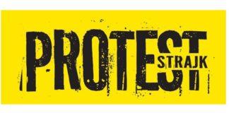 Protest nauczycieli - fot. mat. pras.