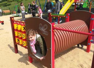 Otwarto nowe place zabaw w Czeladzi - fot. UM Czeladź