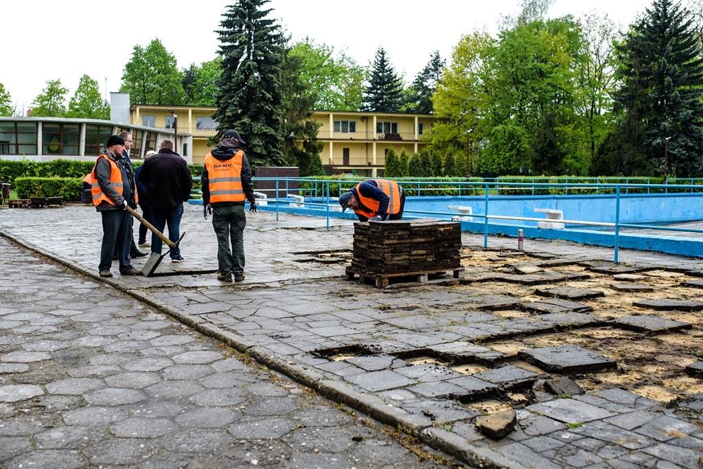 Remont basenu miejskiego - fot. UM Zawiercie