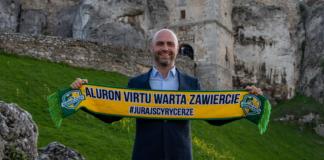 Bartosz Górski wiceprezes Aluronu Virtu Warty Zawiercie – fot. Krzysztof Popiół