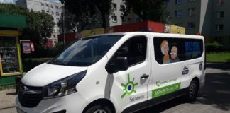 Bus zawiezie seniorów na wybory - fot. UM Sosnowiec
