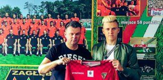 Roman Janicki podpisał 3-letni kontrakt z Zagłębiem - fot. zaglebie.eu