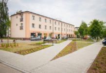 Modernizacja osiedlowego skweru ul. Niepodległości - fot. UM Sosnowiec