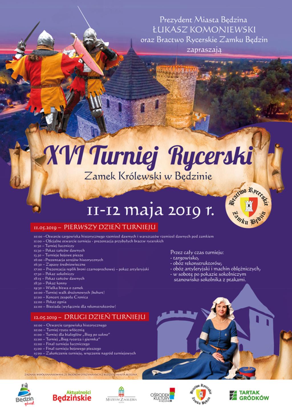 XVI Turniej Rycerski w Będzinie - fot. UM Będzin