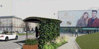 Tak ma wyglądać zielony przystanek w Białymstoku – fot. UM Białystok