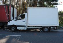 Śmiertelny wypadek na DK78 - fot. KPP w Będzinie
