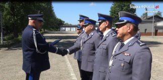 Nowy Zastępca Komendanta Miejskiego Policji w Sosnowcu - fot. KMP w Sosnowcu