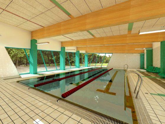 Modernizacja miejskiej pływalni - fot. Pracownia Projektowa PION