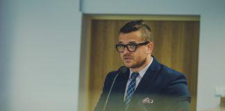 Burmistrz Wojkowic Tomasz Szczerba – fot. Metropolia GZM