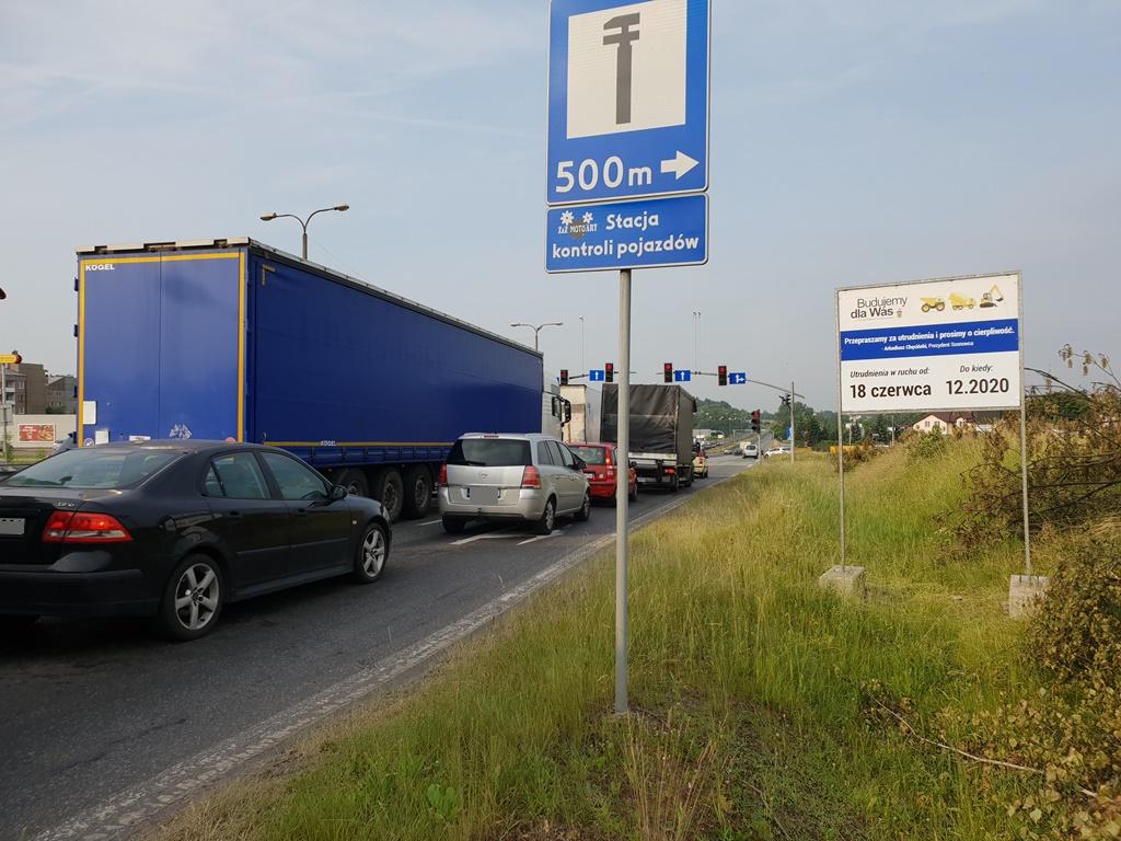 Tablica informacyjna DK94 - fot. UM Sosnowiec