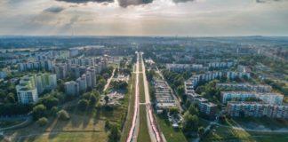 Plac Papieski w Sosnowcu - fot. UM Sosnowiec