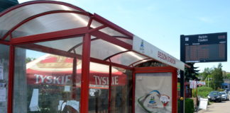 Przystanek Będzin Stadion – fot. Arch. TZ