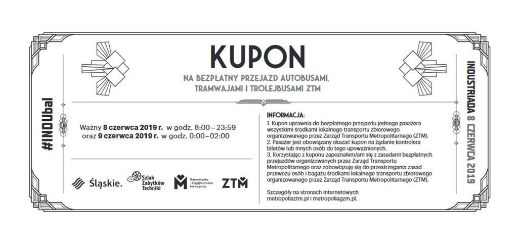 Bezpłatny transport na Industriadę – fot. mat. pras.