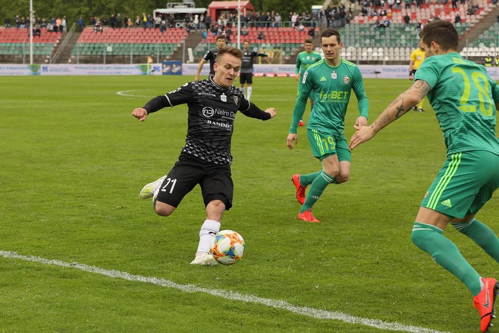 Sebastian Milewski nie jest już piłkarzem Zagłębia Sosnowiec – fot. Marek Rybicki