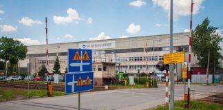 Zamknięty przejazd kolejowy - fot. UM Sosnowiec