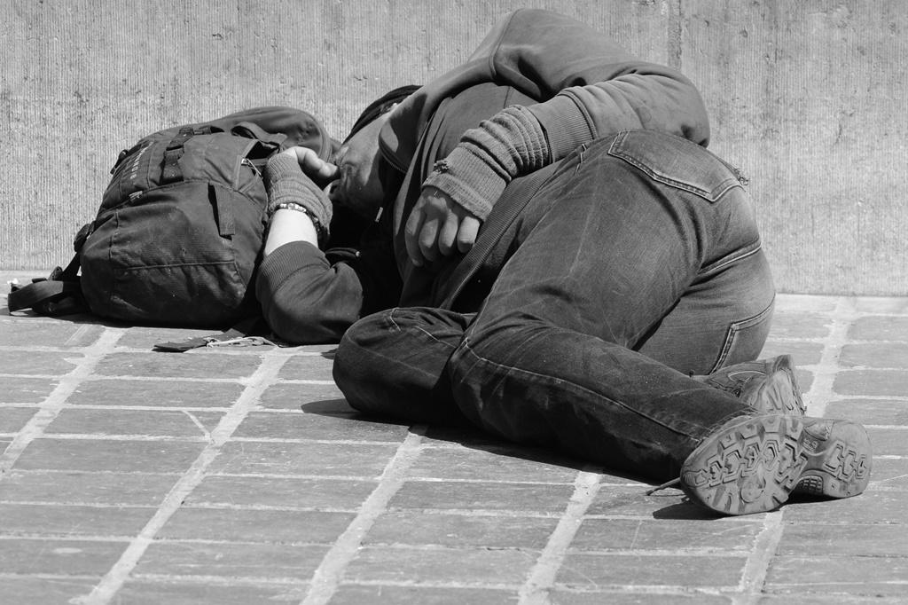 Bezdomny - fot. Pixabay