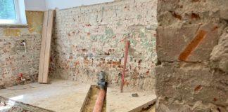 Remont łazienki w przedszkolu - fot. UM Poręba