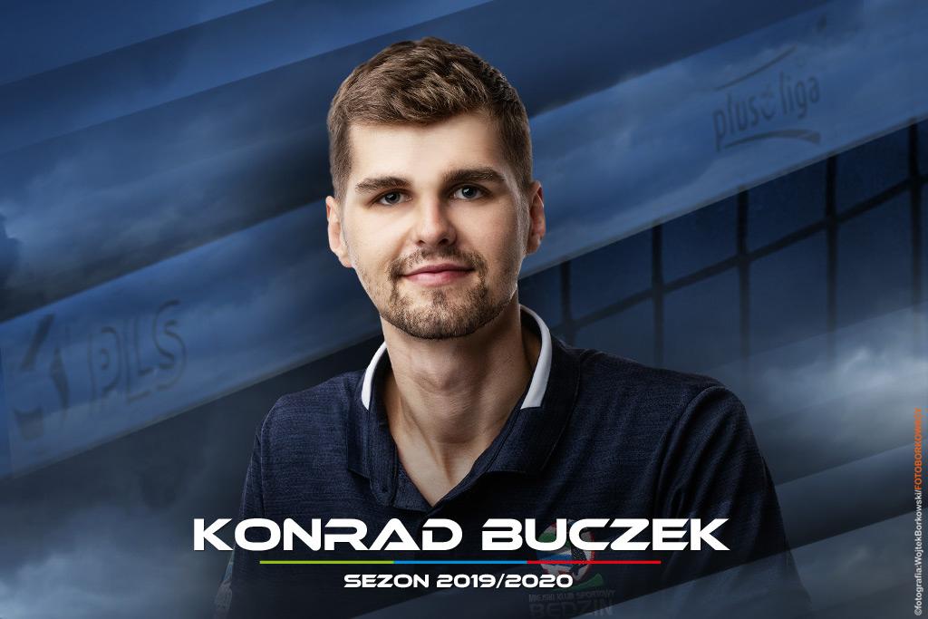 Konrad Buczek nowym rozgrywającym MKS-u Będzin - fot. Wojtek Borkowski/FOTOBORKOWSCY