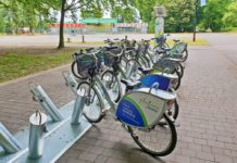 Wypożyczalnia rowerów miejskich na Stawikach - fot. Facebook/Sosnowiec łączy