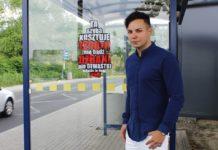 """Radny Damian Żurawski chce """"ostrzec"""" wandali - fot. arch. prywatne"""