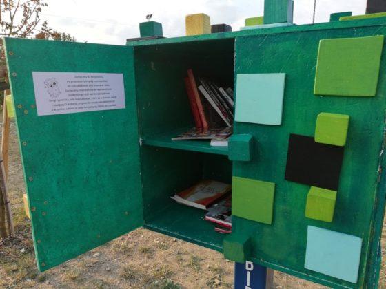 Plenerowe biblioteczki w Sosnowcu - fot. archiwum prywatne