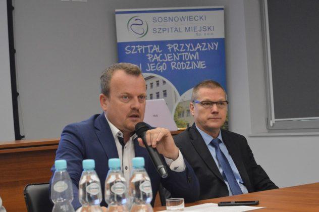 Arkadiusz Chęciński i Dariusz Skłodowski - fot. MZ
