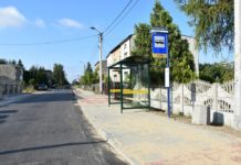 Przebudowa chodnika w Wojkowicach - fot. Starostwo powiatowe w Będzinie