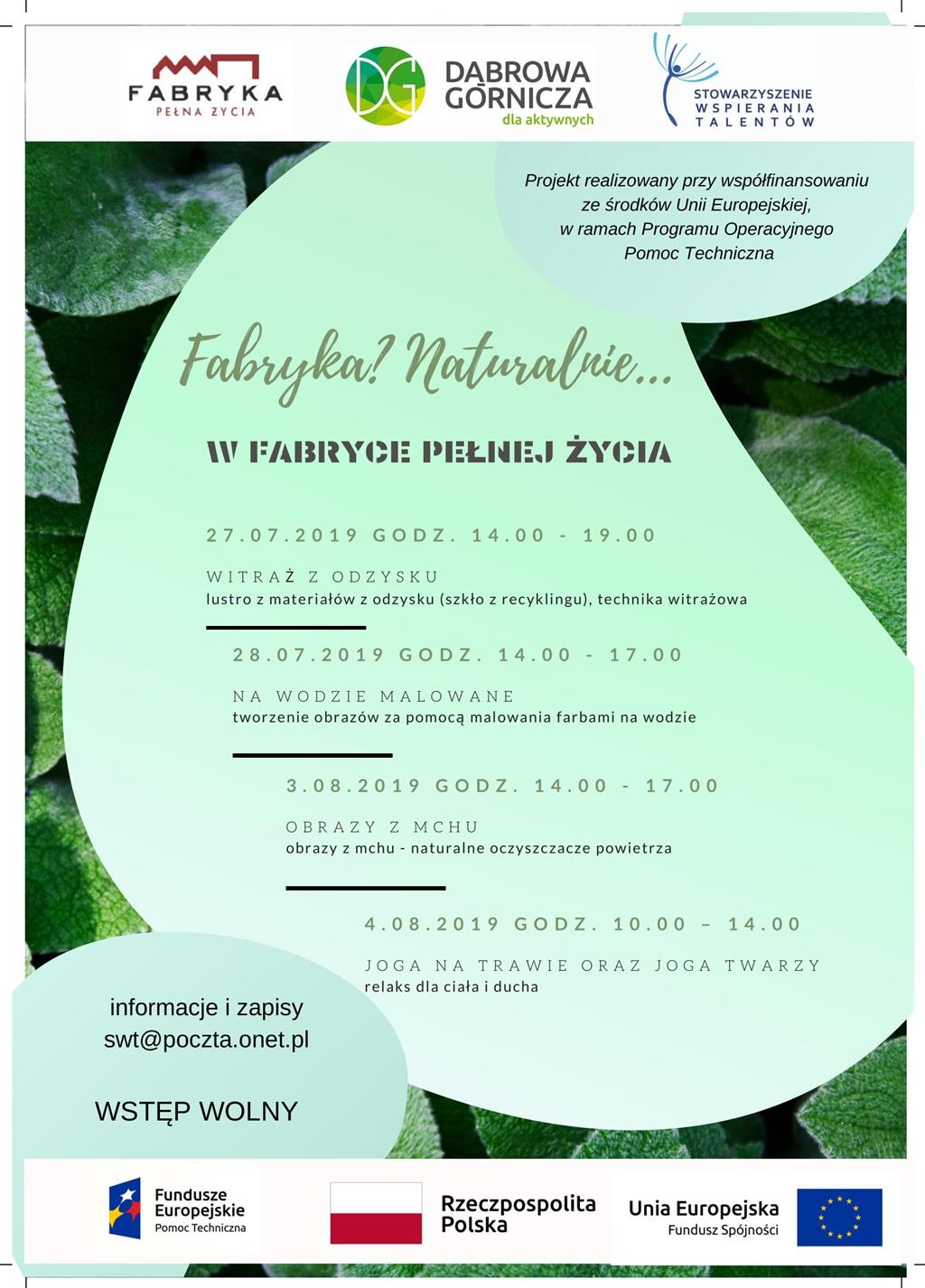 Fabryka- Naturalnie... - fot. mat. pras.