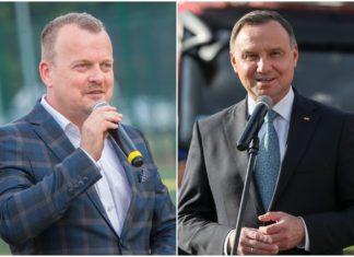 Arkadiusz Chęciński i Andrzej Duda – fot. Arch. TZ/Kancelaria Prezydenta RP