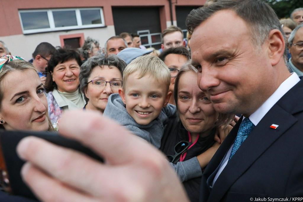 Prezydent Andrzej Duda w Sosnowcu – fot. Jakub Szymczuk/KPRP