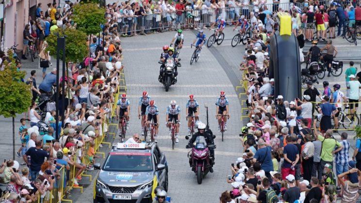 76. Tour de Pologne w Jaworznie - fot. UM Jaworzno