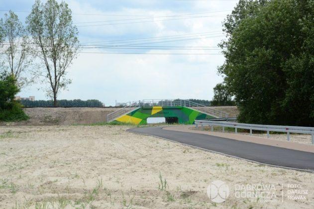 Tunel pieszo-rowerowy między Pogorią III i IV w Dąbrowie Górniczej – fot. Dariusz Nowak