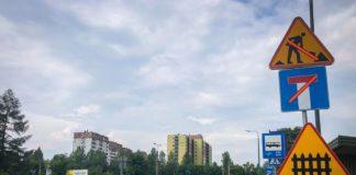 Rusza przebudowa skrzyżowania ulic Ostrogórskiej i Jagiellońskiej - fot. UM Sosnowiec