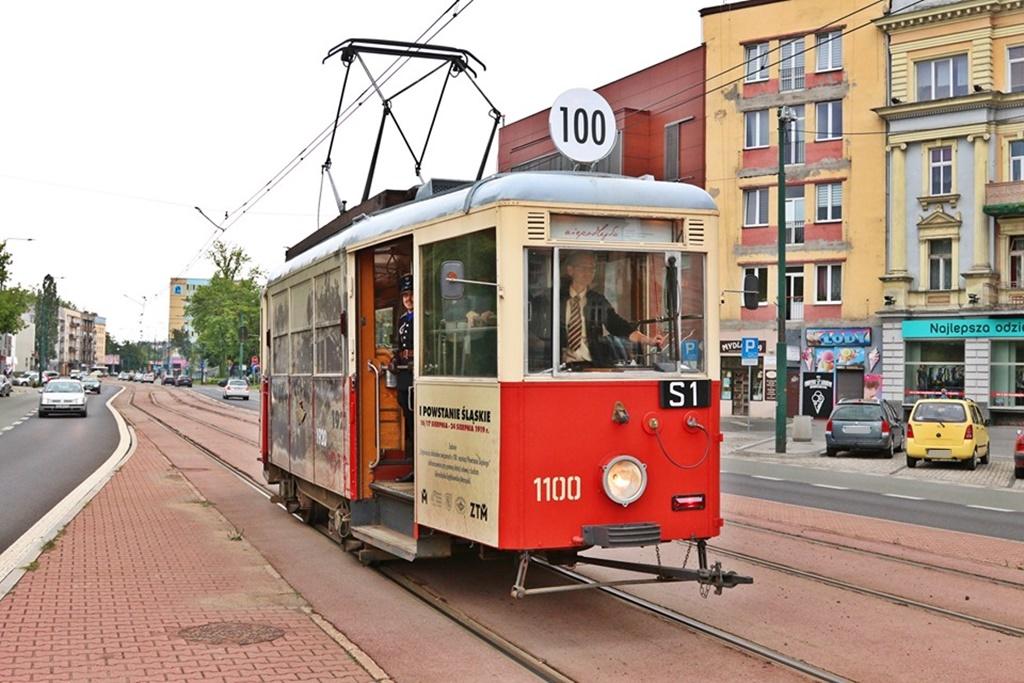 Powstańczy tramwaj - fot. UM Sosnowiec