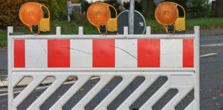 Utrudnienia drogowe przy zbiegu ulic Szpitalnej i Kombatantów – fot. UM Czeladź