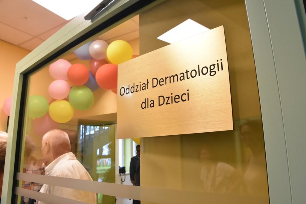 Oddział dermatologii dziecięcej - fot. mat. pras.