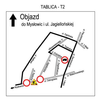 Rusza przebudowa skrzyżowania ulic Ostrogórskiej i Jagiellońskiej – fot. UM Sosnowiec