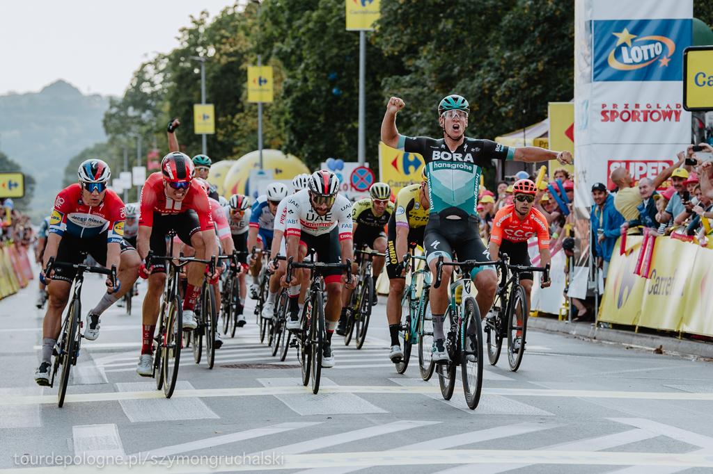 Pascal Ackermann zwycięzcą pierwszego etapu 76. Tour de Pologne – fot. Szymon Gruchalski