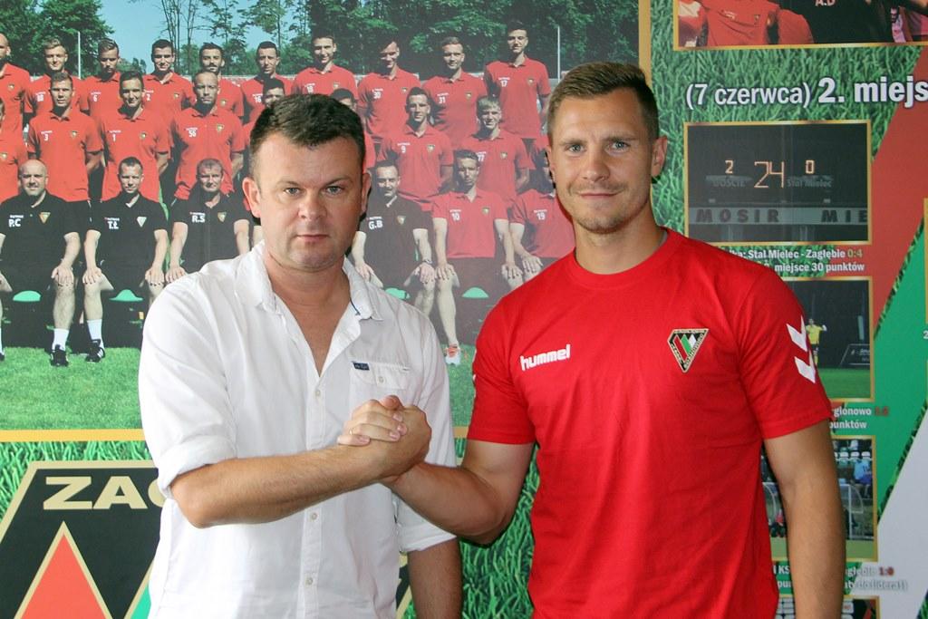 Tomasz Hołota nowym piłkarzem Zagłębia Sosnowiec – fot. Magdalena Wróbel