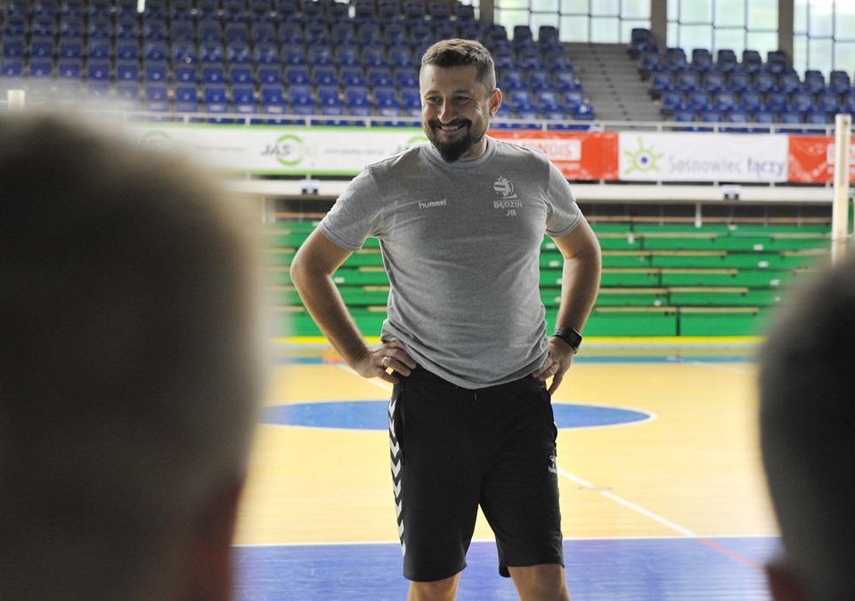 Siatkarze MKS-u Będzin przygotowują się do nowego sezonu – fot. Wojtek Borkowski