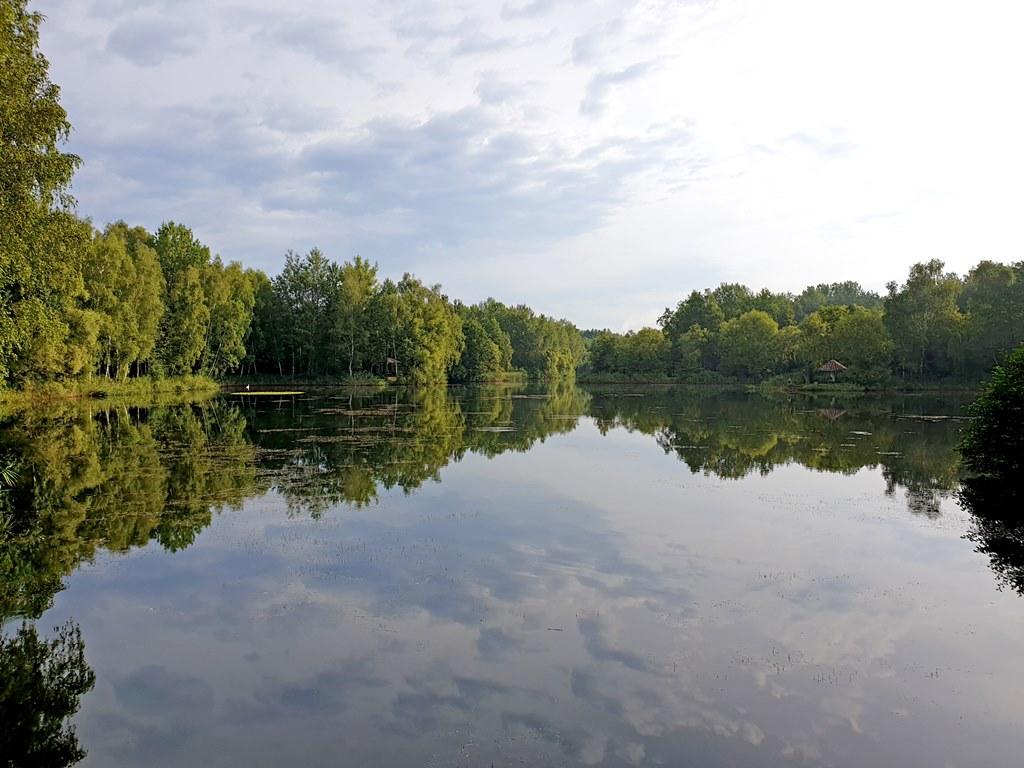 Zbiornik Leśna w Kazimierzu Górniczym - fot. UM Sosnowiec