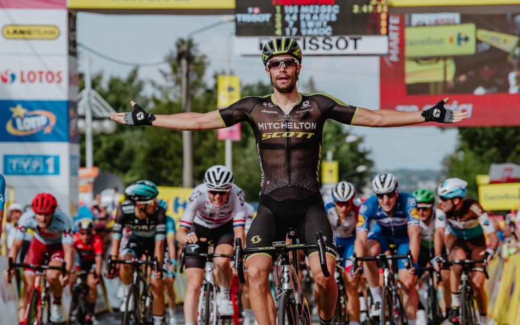 Luka Mezgec zwycięzcą piątego etapu 76. Tour de Pologne - fot. Szymon Gruchalski