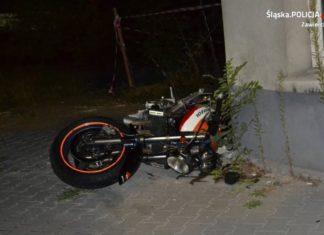 Uciekał motocyklem i pieszo – fot. KPP Zawiercie