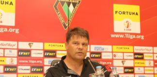 Trener Zagłębia Sosnowiec Radosław Mroczkowski – fot. Marek Rybicki