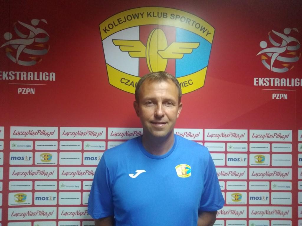 Sebastian Stemplewski trenerem Czarnych Sosnowiec – fot. Janusz Dyszkowski