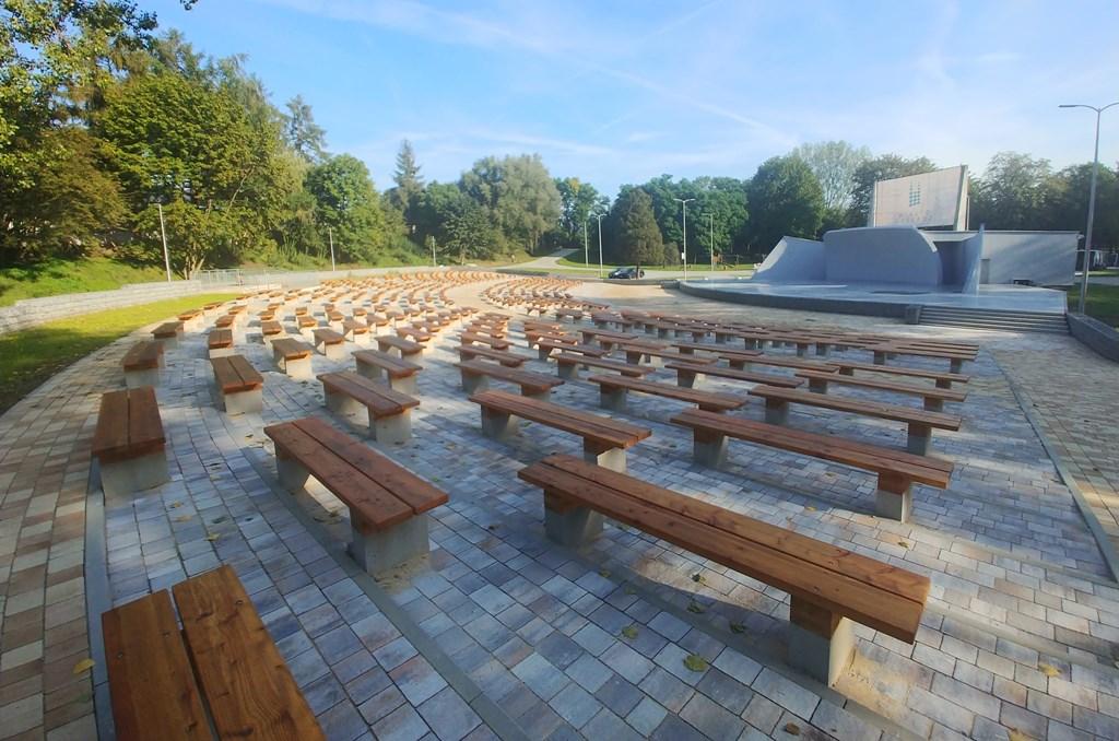 Amfiteatr w parku Grabek - fot. UM Czeladź