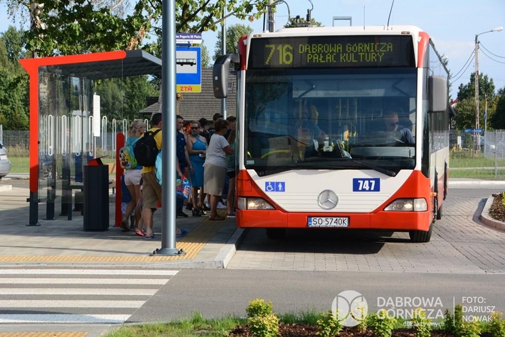 Linia autobusowa nr 716 nad Pogorię III - fot. Dariusz Nowak
