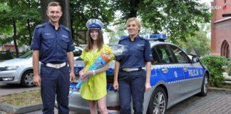 Bezpieczna droga do szkoły - fot. Śląska Policja