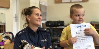 5-letni Jaś z Jaworzna uratował swoją mamę – fot. Policja Jaworzno