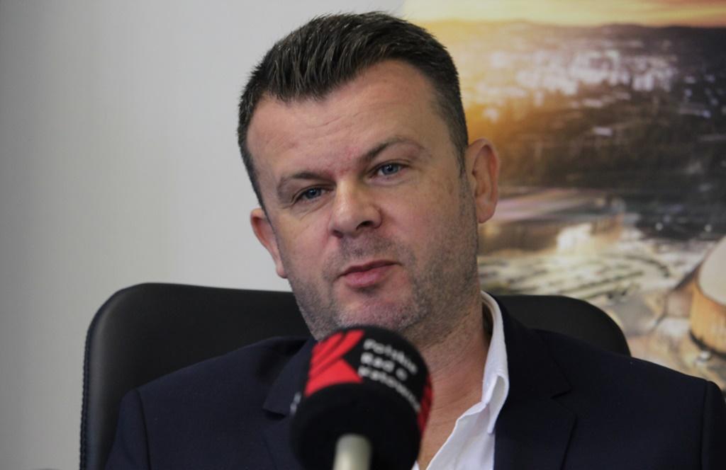 Marcin Jaroszewski pozostaje prezesem Zagłębia Sosnowiec - fot. Andrzej Wydrychiewicz